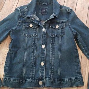 GAP kids denim jacket jean XXL girls medium wash